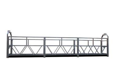 2 x 1.8 kw இடைநிறுத்தப்பட்ட சாரக்கட்டு ஒற்றை கட்டம் இடைநிறுத்தப்பட்ட மேடையில் தொட்டில் zlp800