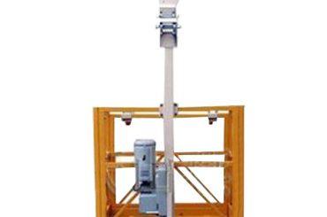 250kg ஒற்றை மனிதன் ltd6.3 ஏந்தி கொண்டு வேலை மேடை எல் strirrup நிறுத்தி